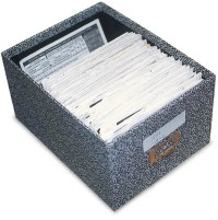 "3"" x 5"" Card File Box"