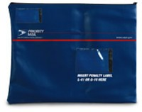 Nylon Priority Mail Courier Bag