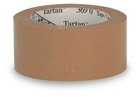 "3M Carton Sealing Tape 2"" x 330' (36 rolls) Tan"