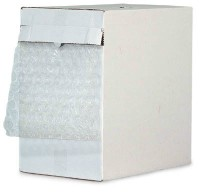 "12"" x 65' Bubble Wrap Roll with Dispenser Box: ½"" thick"