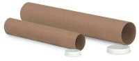 "3"" x 48"" Tan Kraft Mailing Tubes (Bundle of 24)"