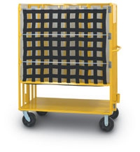 Flat Mail Transport Cart