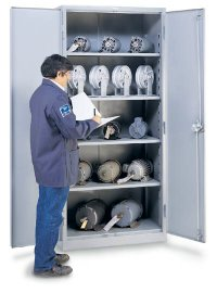 "Heavy Duty Storage Cabinets - 36"" x 21"" x 78"""