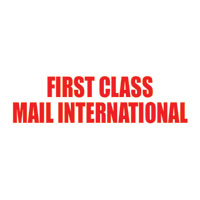 First-Class Mail International Pre-Ink Stamp