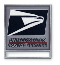 ID Badge Pin - USPS Logo