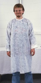 Polypropylene Protective Smocks (50/box)