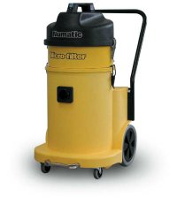 .3 Micron Custodial HEPA Vacuum - 12 Gallon, Single Motor