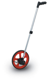 Professional Surveying Wheel with Telescoping Handle
