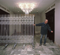 9' Portable Lobby Security Gates
