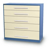 5 Drawer Cabinets (86 compartments)