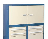 Double Wide Overhead Storage Cabinet