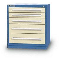 5 Drawer Cabinets (92 compartments)