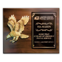 Eagle Cast Award Plaque