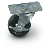 "2""  General Duty Swivel Casters + Brake"