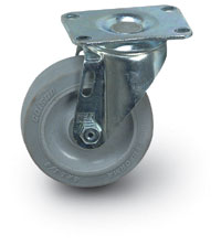 "4""  Quiet Rolling Swivel Caster"