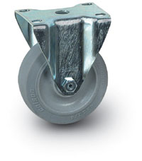 "4"" Quiet Rolling Rigid Caster"