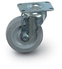 "6""  Quiet Rolling Swivel Caster"