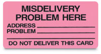 Misdelivery Cards