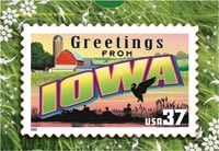 GREETINGS FROM IOWA POSTCARD PUZZLE (5-PACK)