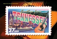 GREETINGS FROM TENNESSEE POSTCARD PUZZLE( 5 PACK )