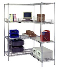 "60"" Add-On Shelving - 4 Shelves"