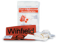First Aid Exposure Kit