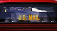 """U.S. Mail"" Static Cling"