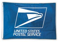 4' x 6' Indoor Postal Logo Flag