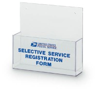 Selective Service Forms Holder