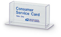 Consumer Service Card Holder