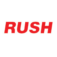 """Rush"" Pre-Inked Small Counter Stamp"