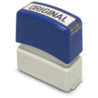 """Original"" Pre-Inked Small Counter Stamp"