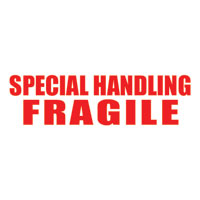 """Special Handling - Fragile"" Pre-Inked Counter Stamp"