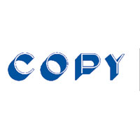 """Copy"" Blue Pre-Inked Small Counter Stamp"