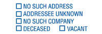 5 Cell - No Such Address, Addressee Unknown