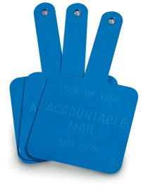 Accountable Mail Paddle