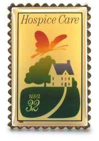 Hospice Care Stamp Pin