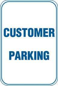 12X18 CUSTOMER PARKING