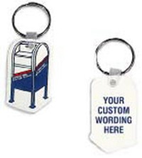 Custom Key Ring with Collection Box Print