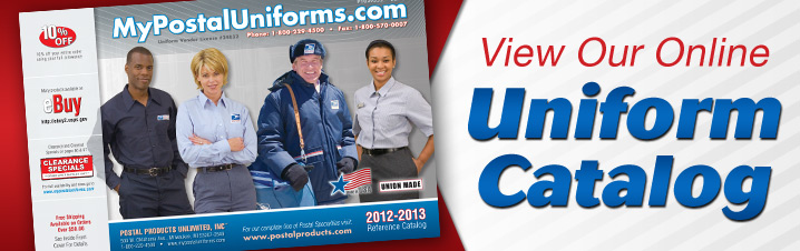 Postal Uniform Catalog